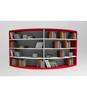 Z Kütüphane Çift Taraflı Kitaplık