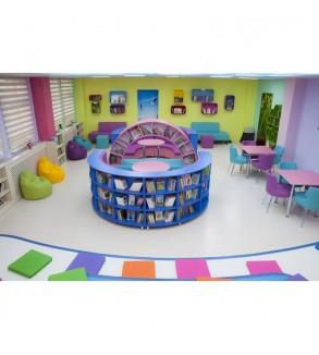 Z-Kütüphane Preveze İlkokulu Proje  (80 M2)
