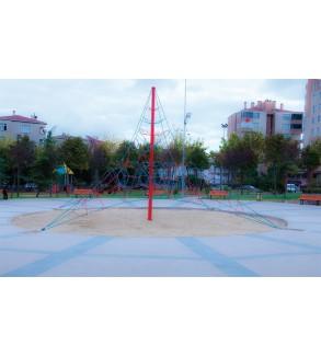 Çocuk Oyun Parkı Ağ Tırmanma