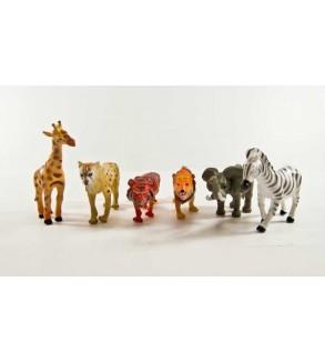 Vahşi hayvanlar 6 lı set