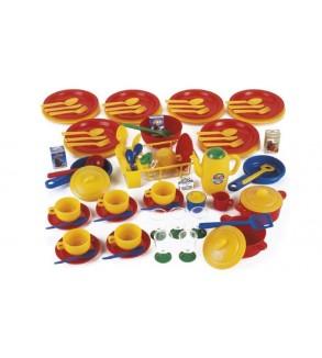 Plastik Çocuk Mutfak Seti