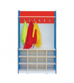 Shoe and coat rack