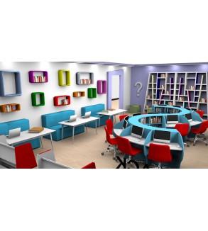 Z-Kütüphane Örnek Plan  (50 M2)