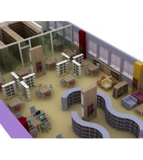 Z-Kütüphane Örnek Proje  (150 M2)