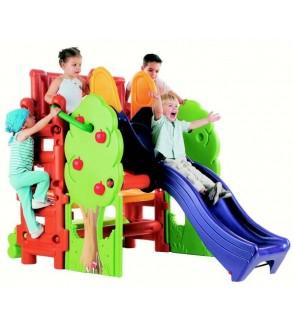 Plastik Oyun Aktivite Grubu (Wood House 200*125*13* cm)