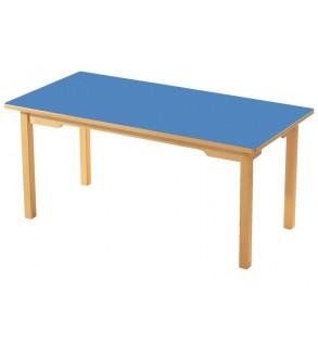 طاولةثيلةمعخشبي