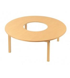 جولة الخشب طاولة لعبة