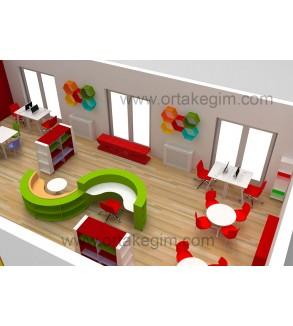 z kütüphane örnek proje tasarım