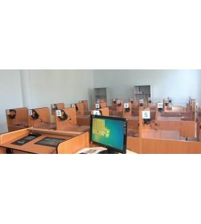Kablolu Lingafon (40+1)  Yabacı dil laboratuvarı