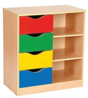 Colorful Cupboard