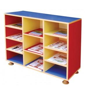 Eleven Shelf Cupboard