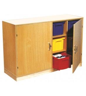 Boxed Cupboard With Door