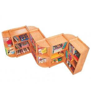 ركن خزانة الكتب