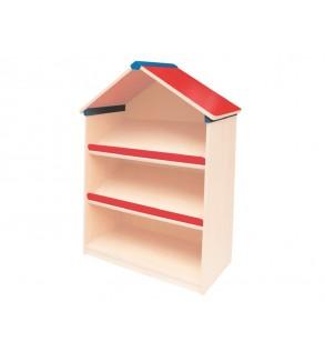 Anaokulu Mini Çatılı Kitaplık