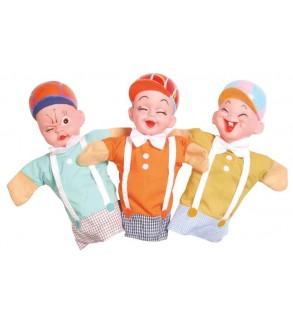 Kreş-Anaokulu Plastik Başlı Çocuk Kuklalar