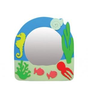Deniz figürlü Ayna