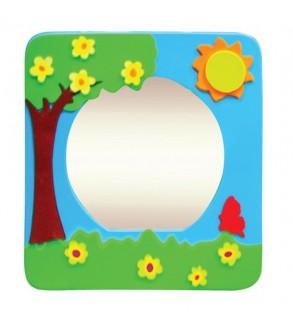 İlkbahar figürlü Ayna