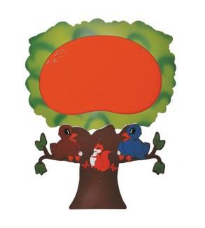 Anaokulu Ağaç Figürlü Pano