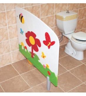 Anaokulu Figürlü WC Paravanı