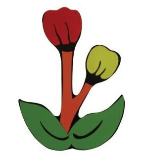 Anaokulu ve Kreş Çiçek Figür