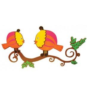 Anaokulu Kuşlar Figür