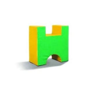 H الإسفنج على شكل
