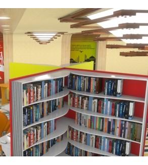 Özel Tasarım Kitaplık Kütüphane