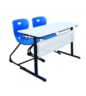 Double bureau d'école