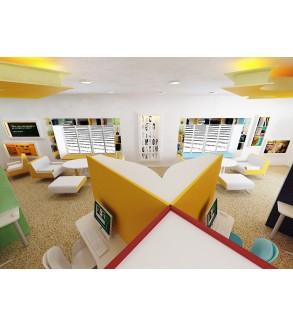 Custom Design Book Library