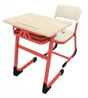 Classic single PPC school desk