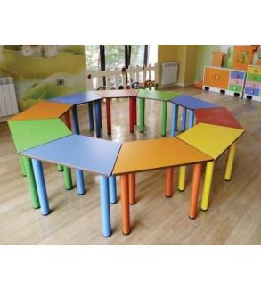 Parallel ogram table metal