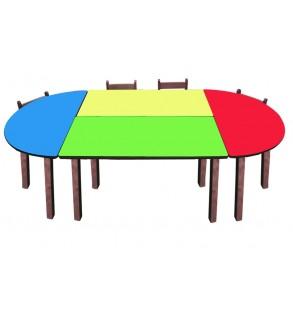 Anaokulu Oval Masa Grubu