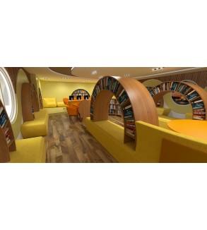 Custom Design School Library